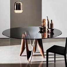 table de cuisine en verre 66245 table ronde 4 pieds