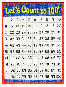counting numbers to 100 worksheets 8046 number chart let s count to 100 025296 images rainbow resource center inc counting to