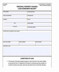 free 8 sle personal loan agreement forms in pdf ms word
