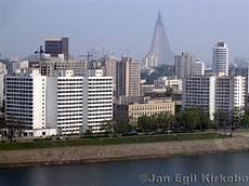 Pyongyang Day Korea City River Asia Wallpaper