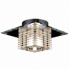 halogen deckenleuchte s luce deckenleuchte led halogen 187 karol glas 18x18cm