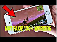 How to Play Fortnite on iPhone 5s Fix it Now!!! Complete