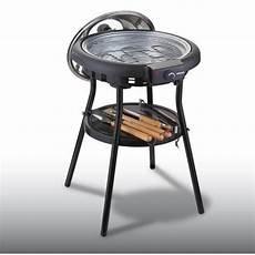 barbecue electrique rond avec couvercle