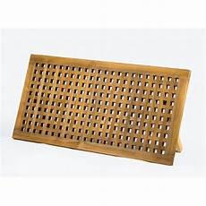 caillebotis en teck pour caillebotis teck pour salle de bain 120x60 cm mod 232 le inos
