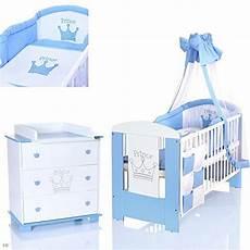 wickelkommode und babybett prinz blau babyzimmer m 246 bel komplettset f 252 r jungs mit