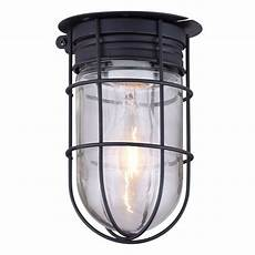 outdoor caged light barn ceiling exterior wall all weather with cage black ebay