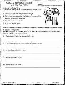 writing skills worksheets for grade 2 writing skills practice assess grade 6 no prep printables by lovin lit