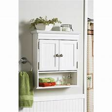 Bathroom Wall Walmart by Better Homes And Gardens Cottage Wall Cabinet White