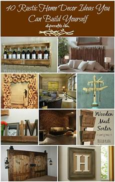 Living Room Diy Rustic Home Decor Ideas by 40 Rustic Home Decor Ideas You Can Build Yourself Page 2