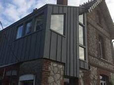 habillage facade maison 68442 22 meilleures images du tableau couverture zinc couverture zinc joint debout et toiture