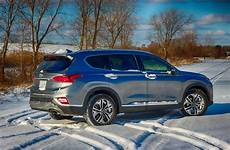 2019 hyundai santa fe crossover 2019 hyundai santa fe ultimate 2 0t awd tackling the