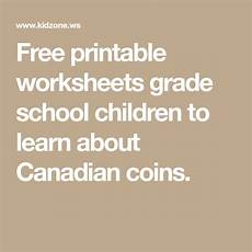 money worksheets kidzone 2415 free printable worksheets grade school children to learn about canadian coins money