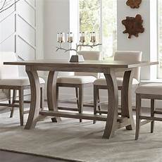 standard height counter height and bar height tables riverside furniture 76 inch counter height table in
