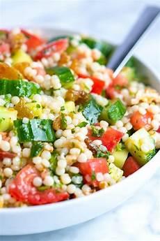 Rezept Couscous Salat - our favorite lemon herb couscous salad recipe in 2019