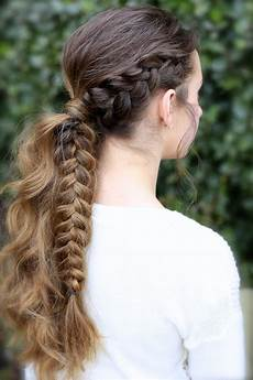 the viking braid ponytail hairstyles for sports cute hairstyles