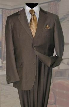 basic solid plain color taupe wool fabric suit two buttons 2