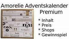 Amorelie Adventskalender Premium 2018 Unboxing Inhalt