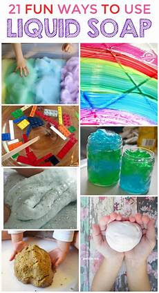 Coole Sachen Basteln - 21 cool things to make with liquid soap at home