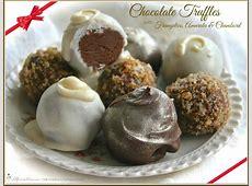 chocolate raisin truffles_image
