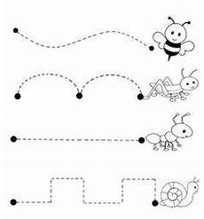 line patterns worksheets 152 bugs trace line worksheet crafts and worksheets for preschool toddler and kindergarten