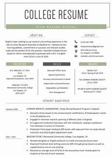 internship resume sles writing guide resume genius
