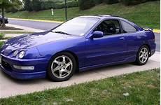 Blue Acura Integra