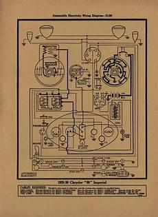 1929 1930 chrysler imperial wiring diagram