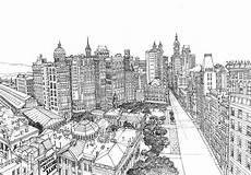 Malvorlagen New York Skyline Ausmalen Als Anti Stress New York New York 1
