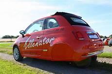fiat 500 ellenator 2016 fiat 500 cabrio 3 wheeler looks strangely appealing autoevolution