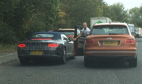 Two £180k Bentley Gt Convertibles Seen For First Time On