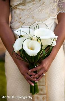 calla lilies bear grass lily grass white bouquets for