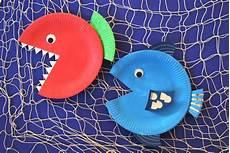 Fische Basteln Mit Kindern Fische Basteln Kinderspiele Welt De