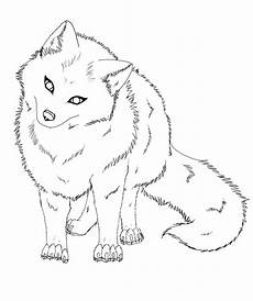 Arctic Fox Coloring Sheet Arctic Fox Easy Coloring Pages