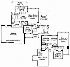 4 bedroom country house plans country traditional home with 4 bedrms 2433 sq ft