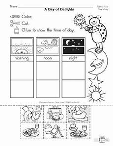time of day worksheets for kindergarten 3596 a day of delights lesson plans the mailbox preschool worksheets preschool math math