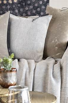 schlafzimmer joly joly kissen 50x50 beige modernes strickkissen knit factory