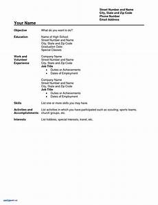 79 awesome photos of resume sle for high school