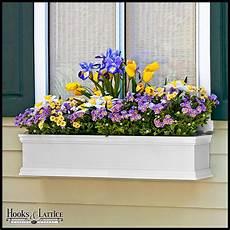 White Window Boxes Planters