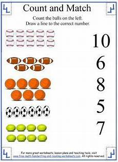 sports worksheets kindergarten 15816 count and match sports preschool activities printable sports themed lessons math pages