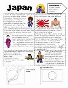 worksheets japan