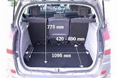 zafira b kofferraumvolumen adac auto test renault sc 233 nic 1 6 16v dynamique