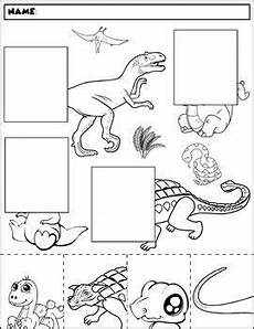 dinosaur matching worksheets 15344 dinosaur color and match 2 all kindergarten tpt dinosaur coloring dinosaur