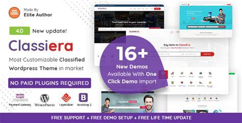 classiera v1 0 10 classified ads wordpress theme