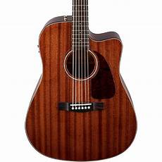 fender cd 140sce acoustic electric guitar fender cd 140sce all mahogany acoustic electric guitar musician s friend