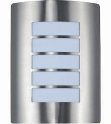 64331wtsst view led 11 inch stainless steel outdoor wall sconce