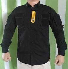 baju tactical hitam jual kemeja tactical drone bdu hitam airsoft di lapak baju