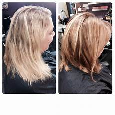 lob haircut before and after before and after lob haircut and bronde color hair by natalie grubb nichols yelp