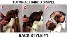 Tutorial Simple Hairdo Untuk Pemula Bhastian Hendra