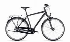 fahrrad herren cube town pro comfort herren trekking fahrrad schwarz 2018