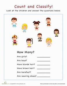 sorting and classification worksheets 7771 count and classify preschool math preschool worksheets worksheets for